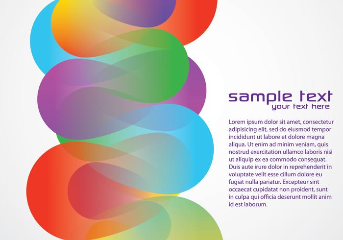 Colorful Funky Background Two Vector