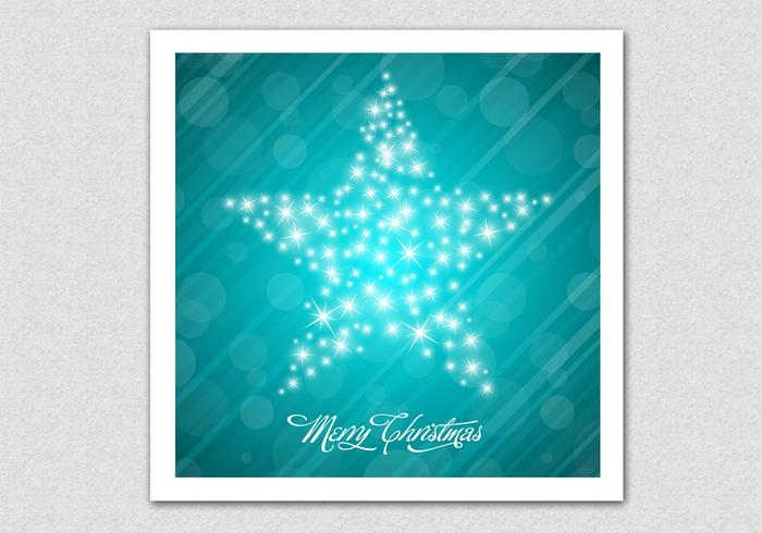 Sparkling Merry Christmas Star Vector Background - Download Free ...