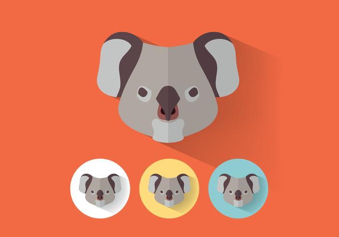 Koala Vector Retratos