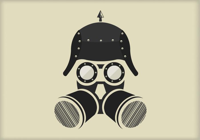 Steampunk Vector Portrait