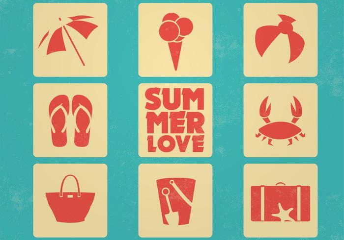 Download Vector - Summer Vector Icons 2 - Vectorpicker