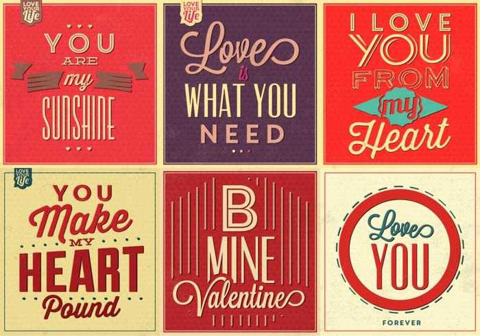 Love Quotes Wallpapers Pack : Love Quote Vector Background Pack - Download Free Vector Art, Stock Graphics & Images