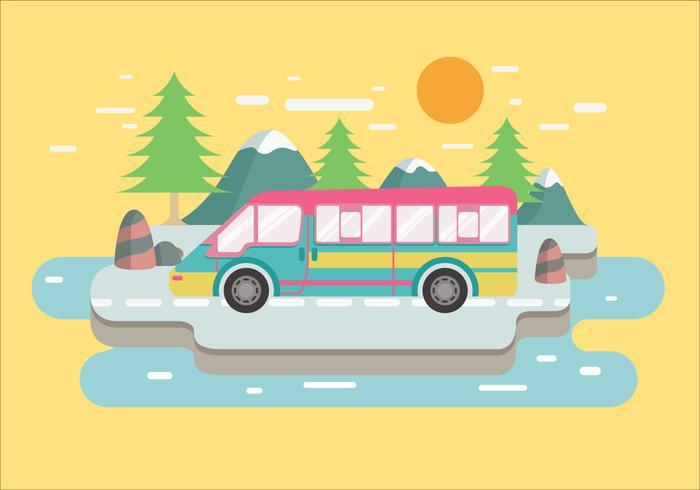 Travel Adventure RV Vector