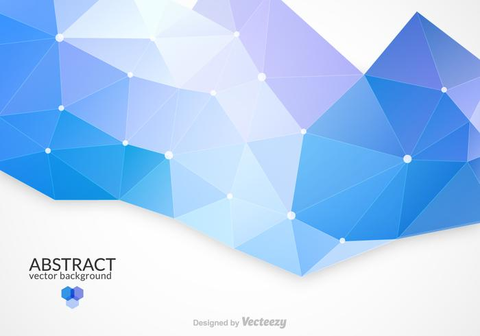 Abstract Triangular Vector Background