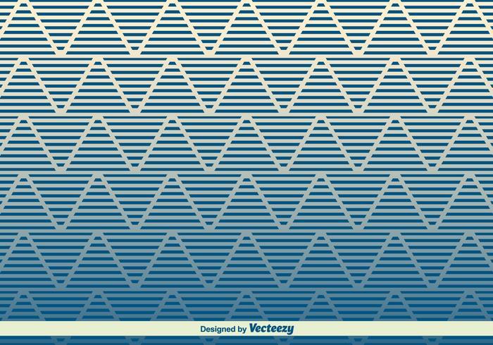 Modernes Zickzack-Vektor-Muster