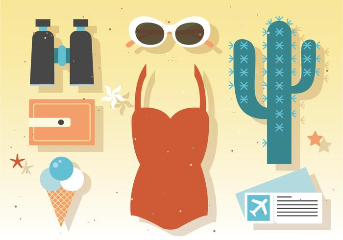 Summer Vector Elements
