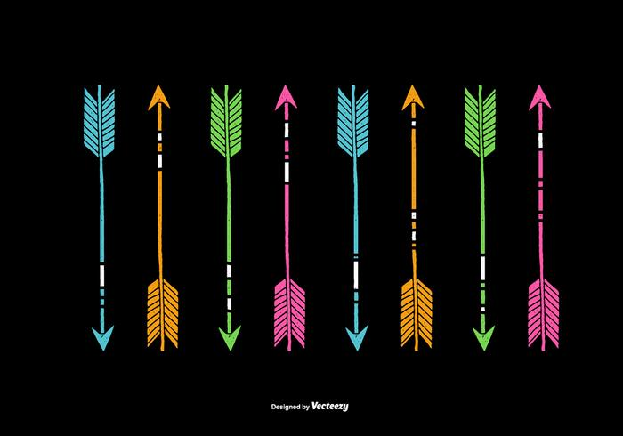 Neon Arrow Vectors