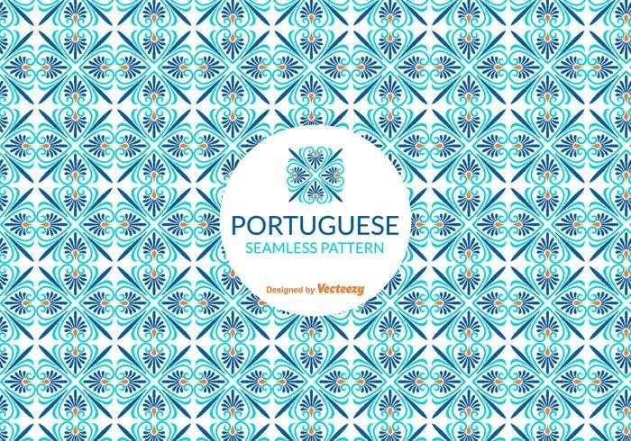 Vector Portuguese Tile Pattern