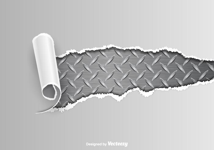 ripped metal vector background download free vector art