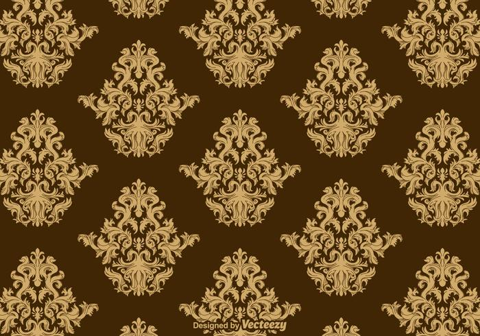Acanthus Ornament Pattern Vector