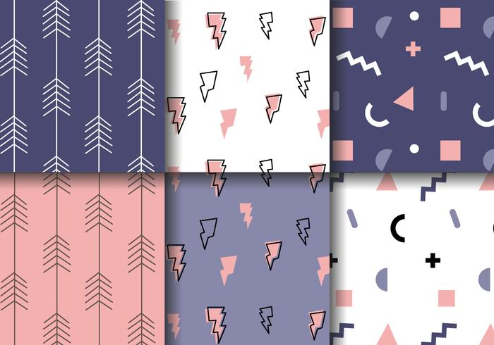 Hipster Pattern Vector