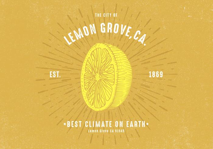 Retro Lemon Design