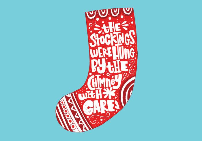 Christmas Stocking Lettering