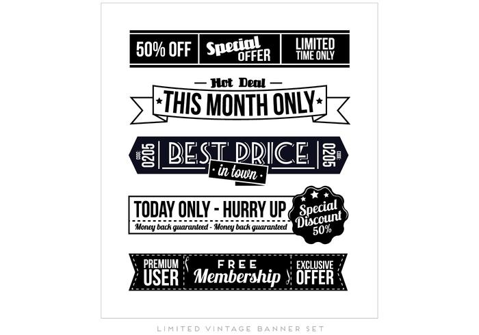 Ad Collection Vector