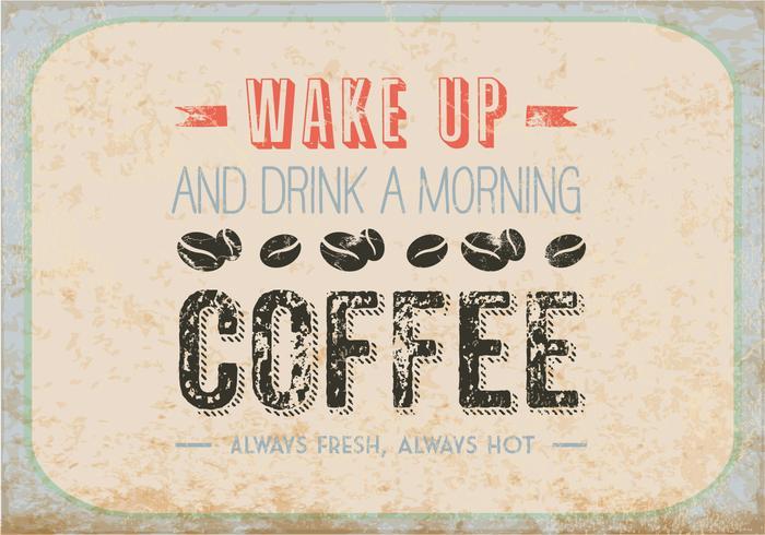 Boire un café du matin