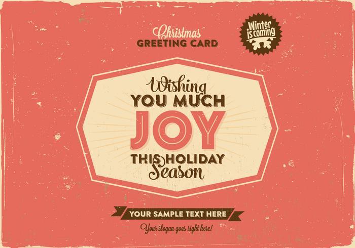 Wishing You Joy Vector