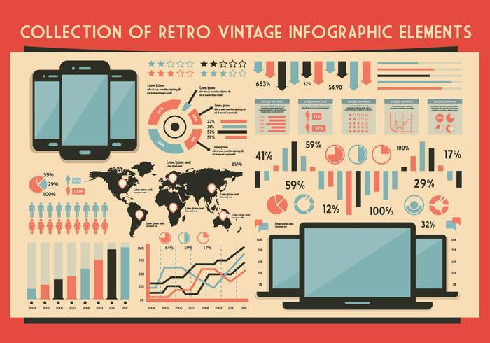 Tech Icons Vector