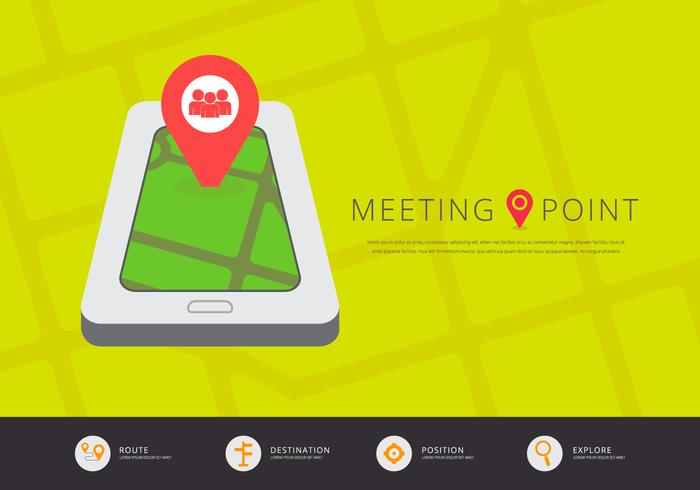 Application mobile Meeting Point