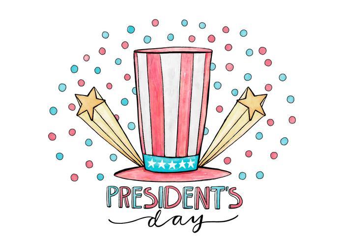 President's Day Illustration