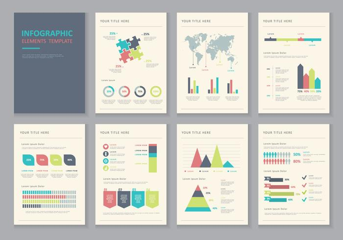 Infographic Elements Illustration Vectors