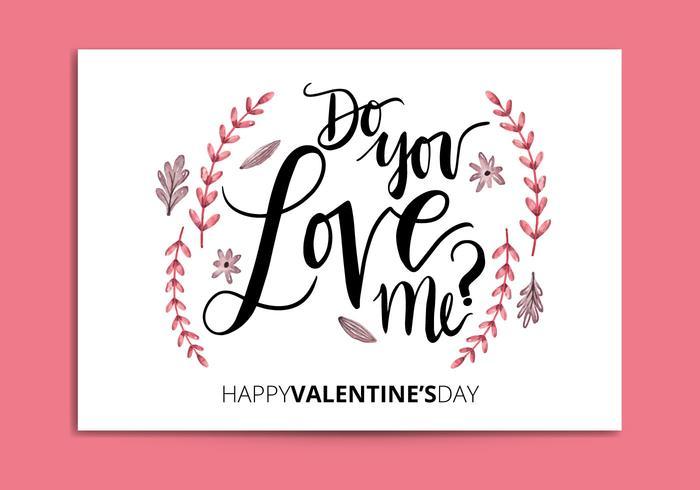 Valentijnskaartkaart