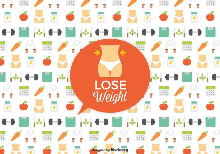 Slimming Vector Background