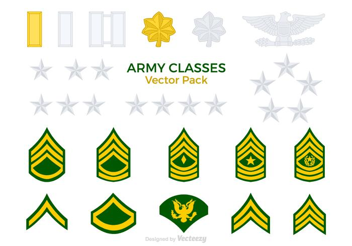 Army Classes Vector Pack
