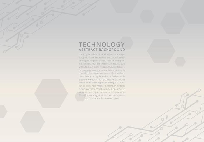 Gray Tecnologia Background Template