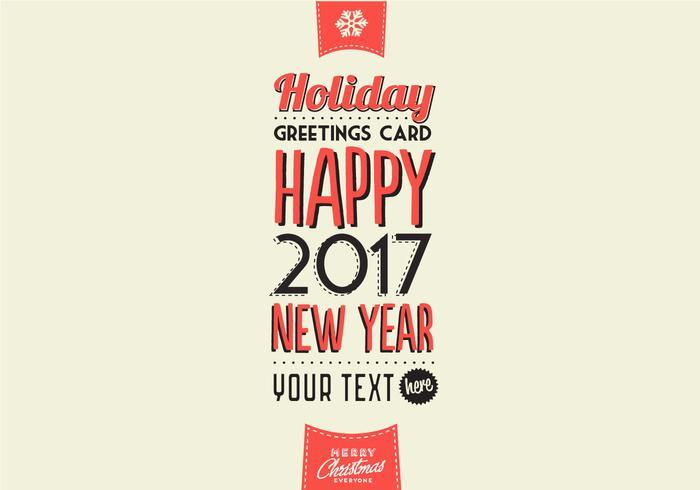 Cidres vacaciones Vector tarjeta de felicitaciones
