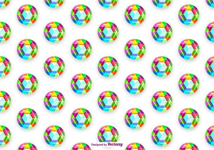 Vector Colorful Rhinestone Background