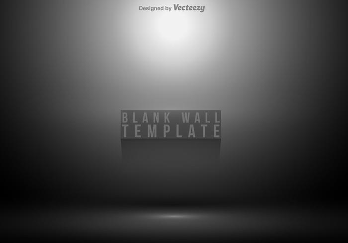 Blank Wall Grey Gradient Abstract Background