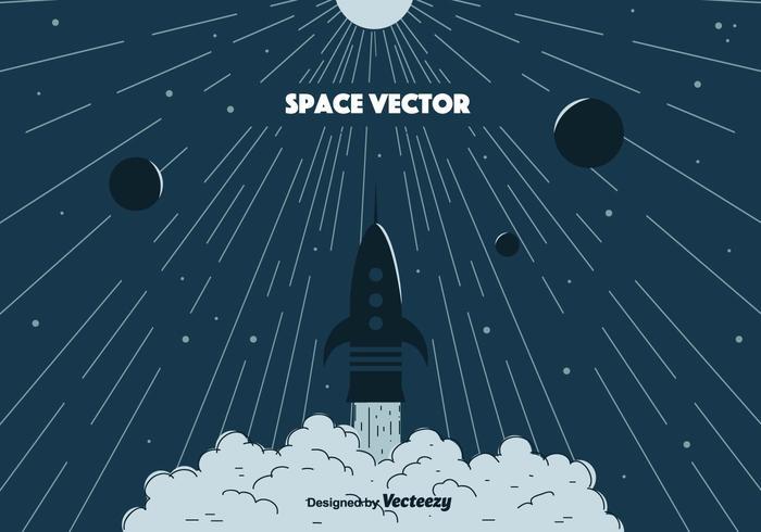 Ilustración de Vector de espacio