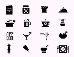 Restaurant Icon Vector Pack