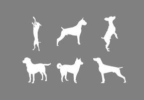 Dog Silhouette Vectors