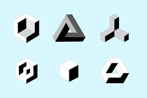 Free vector isometric