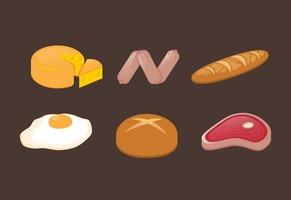 Vector Food llustration Set