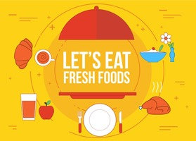 Free Fresh Food Vector