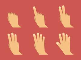 Vector Hand Symbols