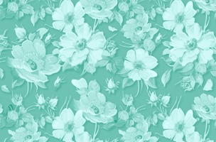 Classic Vector Floral Background