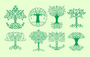 Free Celtic Tree Icons