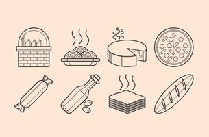 Free Italian Food Icon Vector