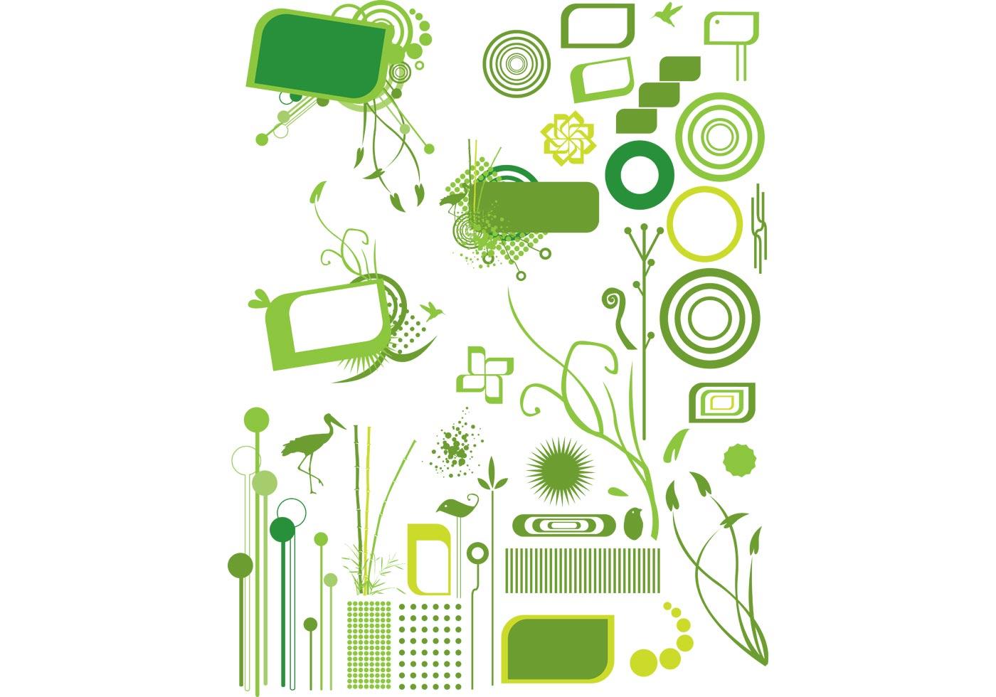 Organic Design Elements Download Free Vector Art Stock
