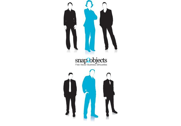 Business Vector Silhouettes Pack