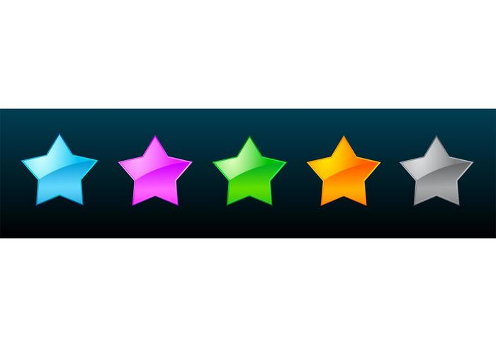 Estrellas de vidrio