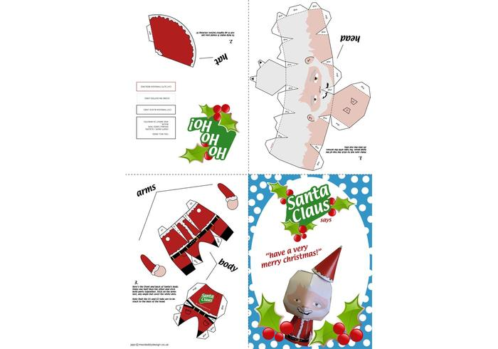 Santa Claus Paper Craft