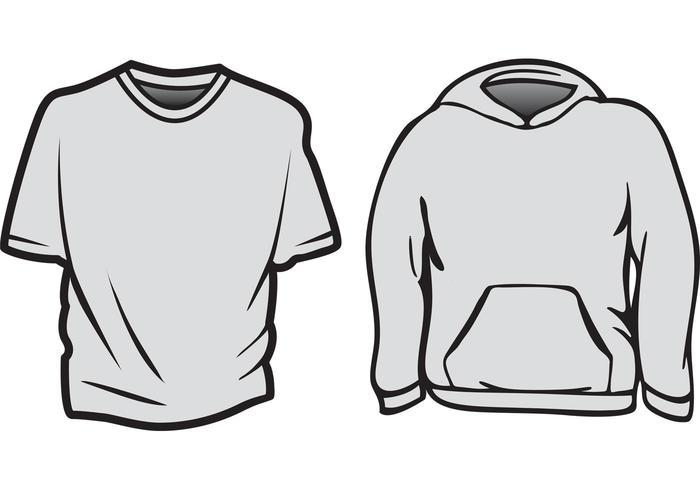 Free Vector T-Shirt Templates