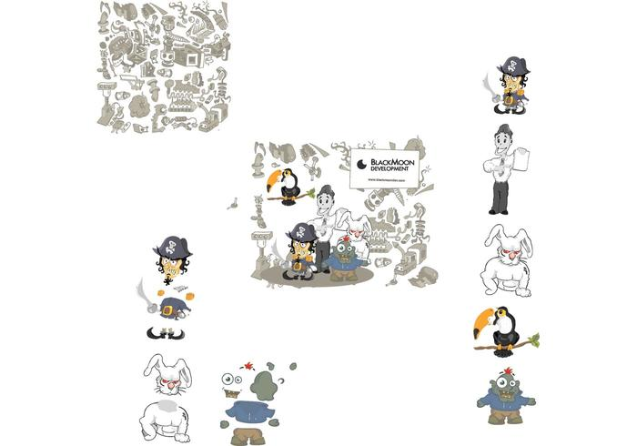 Characters set 1