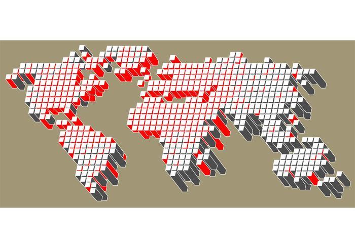 Mapa de tecnología vectorial