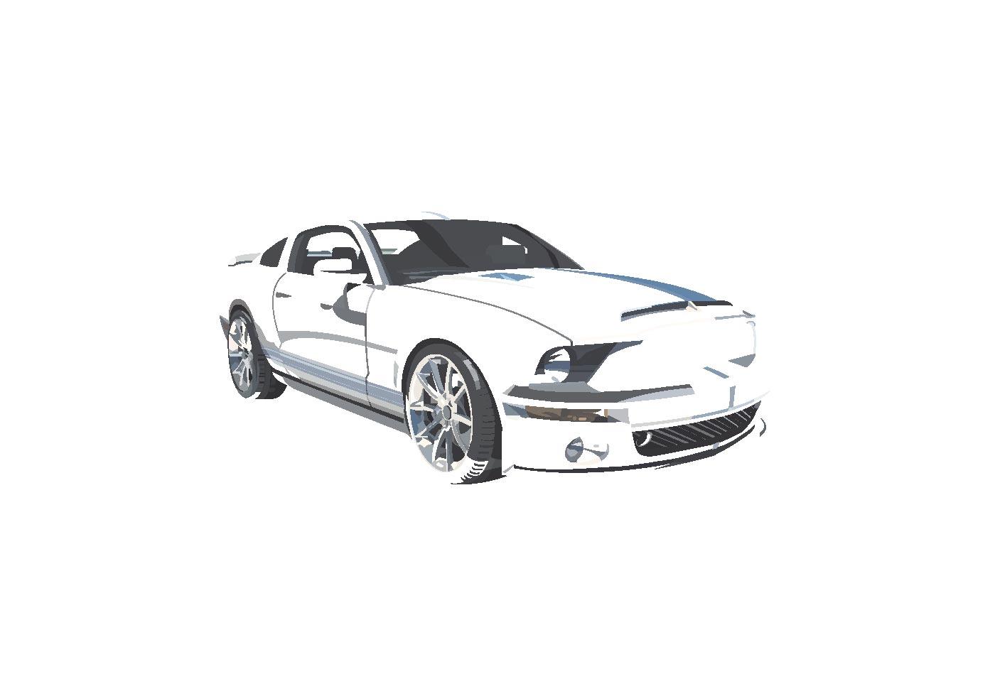 Vector Mustang