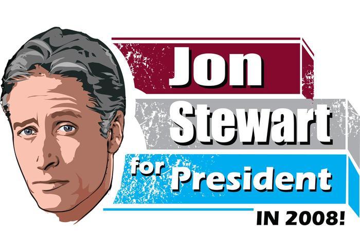 ¡Jon Stewart para el presidente!